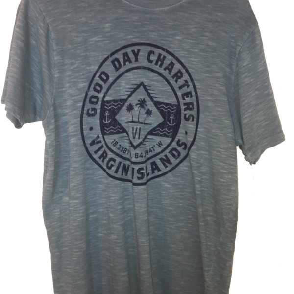 men's short sleeve t-shirt in grey